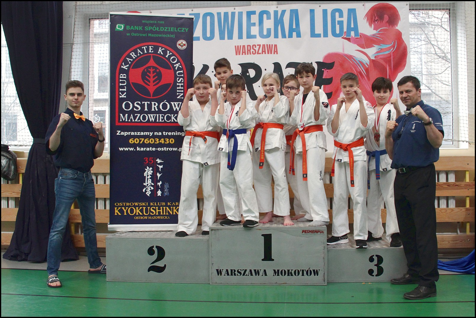 Liga Karate OZKWM – 4 medale !